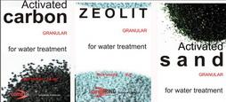 Pasir Aktif, Karbon Aktif dan Zeolit