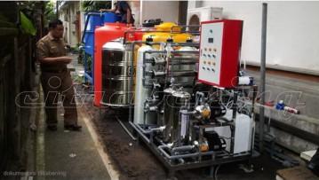 Pengolahan Air Limbah Berteknologi Membran