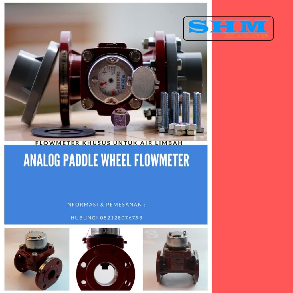 Analog Paddle Wheel Meter